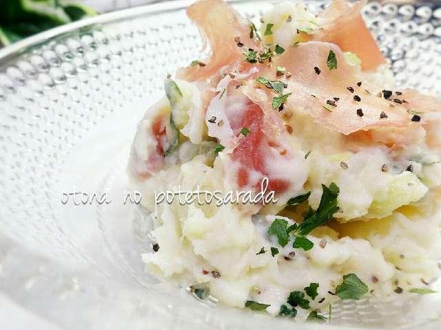 簡単♡生ハムとクリチで絶品ポテトサラダ