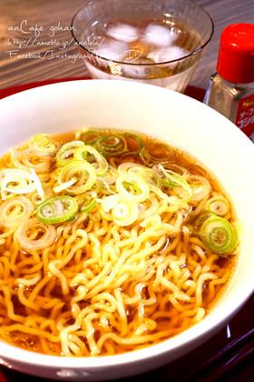 簡単本格醤油ラーメンスープ