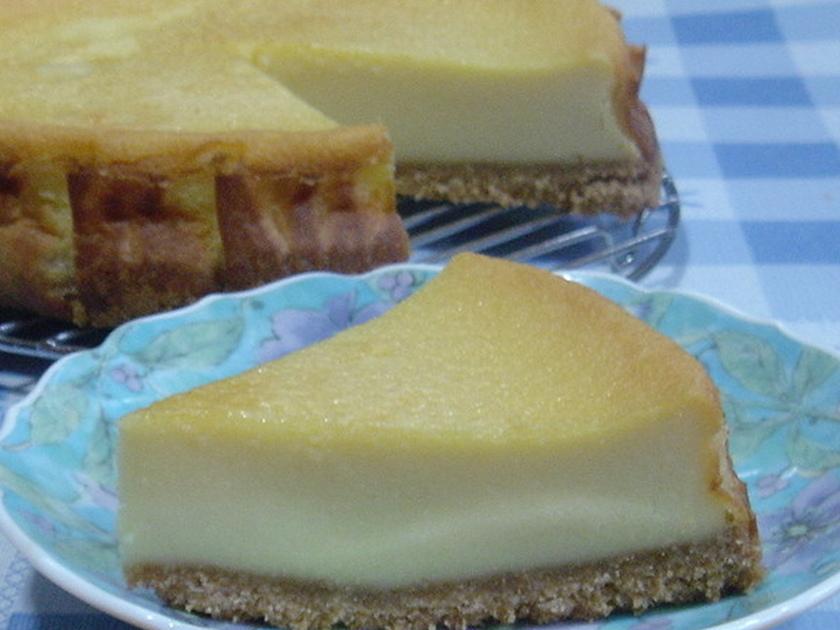 超~簡単♪スライスチーズで☆チーズケーキ