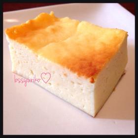水切りヨーグルト☺︎簡単チーズケーキ♪