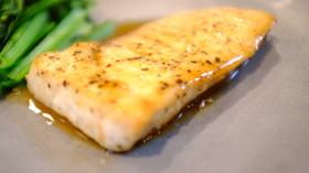 めかじきのバターポン酢焼き