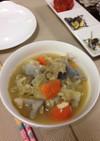 根菜と白身魚のポトフ