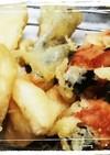 蕨と筍の天ぷら
