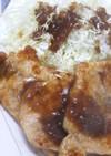 厚切り豚肉の生姜焼き:ポークジンジャー