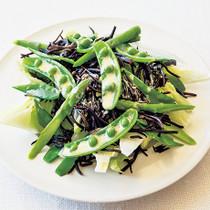 ひじきと豆野菜のサラダ