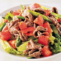 牛しゃぶの彩りおかずサラダ