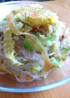 春キャベツの春雨中華サラダ