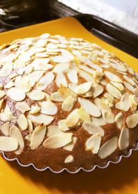 低糖質♪アーモンドプードル100%ケーキ