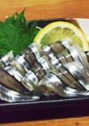 キビナゴの刺身