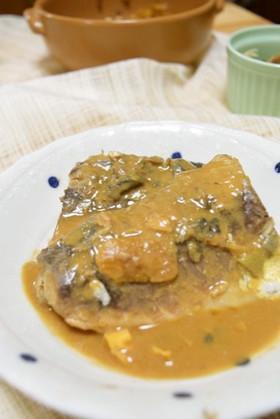 時短レシピのカンタン!!鯖の味噌煮