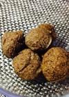 小麦粉簡単おやつ。レンジ2分珈琲ボーロ