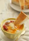 スチーマーでカレーチーズのエッグスラット