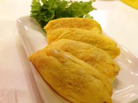 お弁当に冷凍☆ミンチ入味付きミニオムレツ