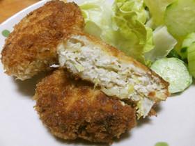 鶏ひき肉のキャベツメンチカツ