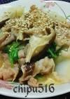 子供が喜ぶ豚バラ肉と白菜のごま味噌炒め