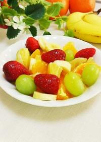 フルーツ♡オリゴ糖シロップ又は蜂蜜