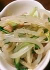 もやしと胡瓜とハムの中華風サラダ