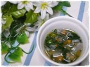 離乳食後期 にんじん大根小松菜の味噌汁の写真