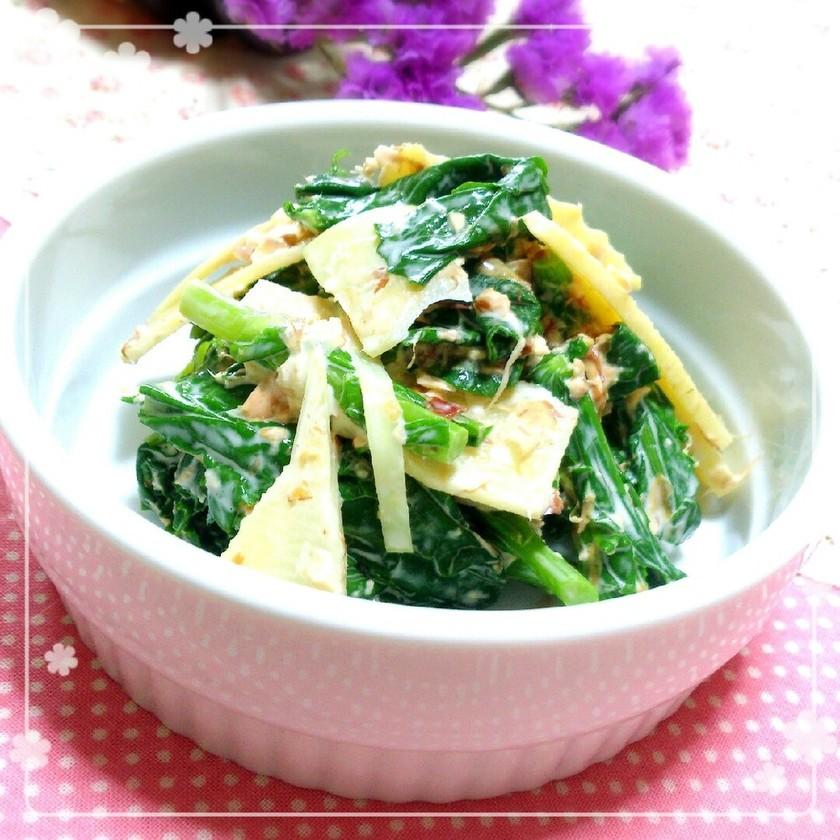 たけのこと菜の花の*春色サラダ*