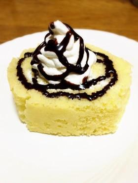 はんぺんで!もっちりロールケーキ