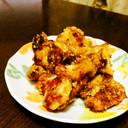鶏胸肉のマヨ・お好み焼きソース炒め