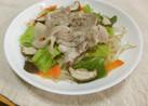 レンジで簡単温野菜&お肉