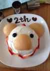 2歳の誕生日!水きりヨーグルトケーキ
