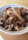 めんつゆで簡単♪山菜と豚肉の煮物