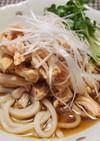 「肉×麺」♡鶏むね肉のピリ辛冷やしうどん