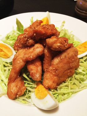★☆鶏胸肉のさっぱり甘酢から揚げ☆★