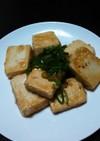 ヘルシー。豆腐の照り焼き