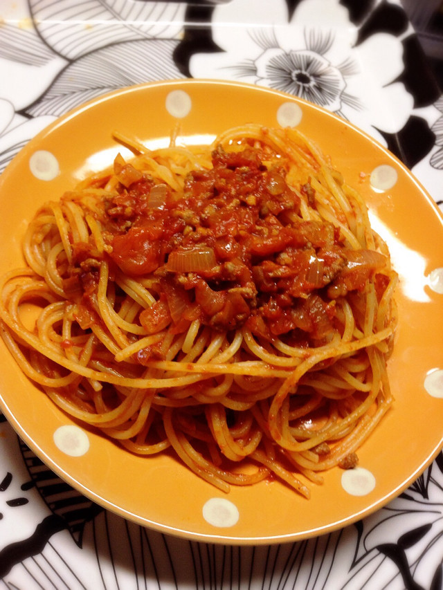 簡単♡節約で超美味しい♡ミートスパゲティ