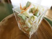 ニュージーランド産アボカドと白菜のサラダの写真