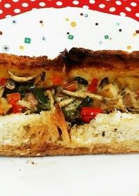 食パンで、簡単すぎるキッシュ(*^^*)