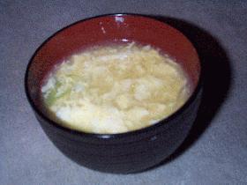 おいしい卵スープ☆