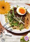 お店の味♬  簡単 ごまだれ肉つけ麺 !