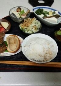 血管ダイエット食265(ハンバーグ擬き)
