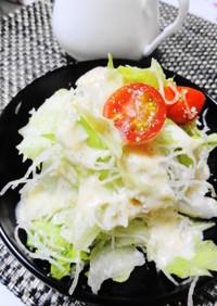 刺身の《つま》で簡単濃厚チーズサラダ♪