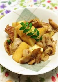 腎臓にやさしい:竹の子と豚肉の炒め物