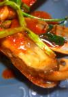 韓国風 あげまき貝のコチュ炒め
