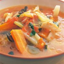 いろいろ野菜のトマトスープ煮