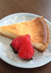 簡単タルト生地のチーズケーキ