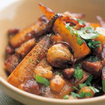 大根と豚肉のカラメル煮