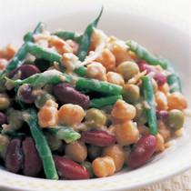 いろいろ豆のサラダ