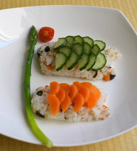 こどもの日☆こいのぼり寿司
