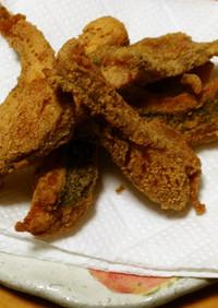 イネゴチのセモリナ粉揚げ