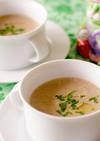ポルチーニ茸のクリームスープ