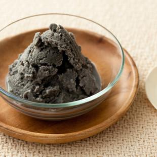 黒ごまの豆乳アイス