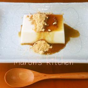 美レシピ♡身体に優しいデザート豆腐羊羹
