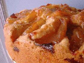 サクサク&ふんわり★はちみつとりんごのケーキ